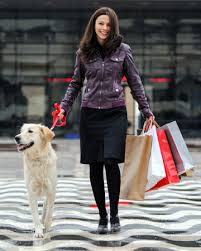 Shopping with dogs