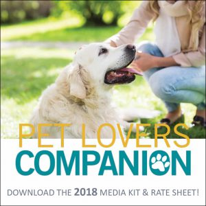 Pet Lovers Companion Rate Sheet 2018